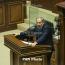 Пашинян заявил об отсутствии связей с Саакашвили и Навальным