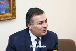 Armenia's acting minister of culture resigns