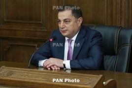 Багдасарян: РПА поддержит кандидата в премьеры Армении от оппозиции