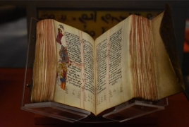 Washington DC Museum of the Bible features Armenian Gospel Books