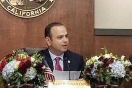 Мэр Глендейла приедет в Ереван, чтобы «в исторический момент быть с соотечественниками»