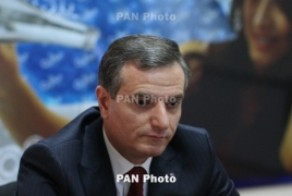 Armenia first deputy defense minister resigns
