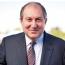 Президент Армении подписал указ о назначении Пашиняна премьером