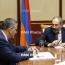 Փոխվարչապետի պաշտոնակատարը Փաշինյանին ծանոթացրել է ԵՏՄ սպասվող գագաթնաժողովի մանրամասներին