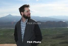 Alexis Ohanian tells Colbert revolution in Armenia was 'fantastic'