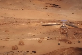 NASA sending first autonomous helicopter to Mars in 2020