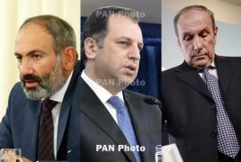 Փաշինյան - Սարգսյան - Տեր-Պետրոսյան