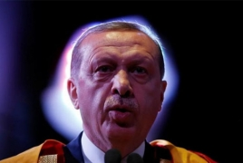 Erdogan says won't allow Israel to steal Jerusalem