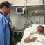 Раненный в Арцахе военнослужащий пришел в сознание: Его проведал глава Минобороны РА