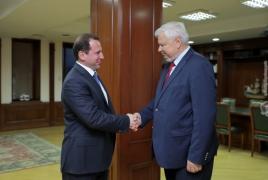 Armenia Defense Minister, OSCE envoy talk Karabakh settlement