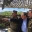 Главы Минобороны и МИД РА посетили участок армяно-азербайджанской госграницы