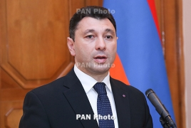Armenian lawmakers commemorate Greek genocide