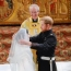 Prince Harry and Meghan Markle proclaimed husband and wife