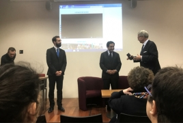 Days of Artsakh in France launch in Compiègne