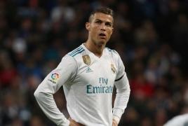 Роналду назван самым популярным спортсменом мира