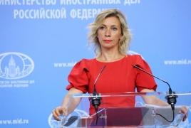Захарова: РФ сохранит активную роль в карабахском урегулировании