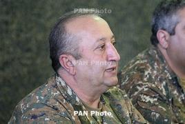 Мовсес Акопян освобожден от должности начальника Генштаба ВС Армении