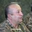 Chief of Armenian army's General Staff relieved of duties