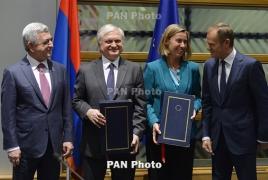 Lithuania Seimas ratifies 'historic' Armenia-EU deal: envoy