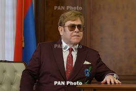 Elton John says he felt love from Armenia