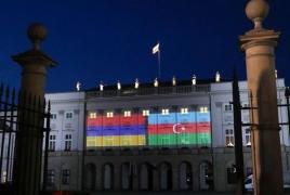Լեհաստանի նախագահականը մայիսի 28-ին լուսավորվել է հայկական դրոշի գույներով (Թարմացված)