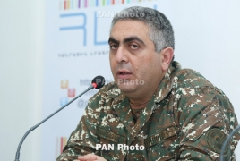 Armenian troops 'carry out constant combat duty' along entire border