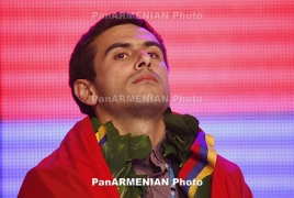 Armenian GM Gabriel Sargissian wins 2nd consecutive gold in a week
