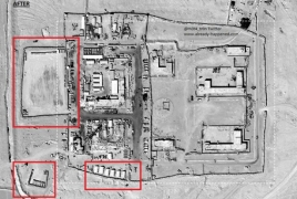 Satellite images show U.S. expanded Tanf base in Syria