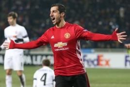 Mourinho says Mkhitaryan struggled to deal with pace in Manchester