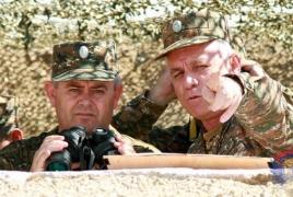ՀՀ ԶՈւ գլխավոր շտաբի պետն այցելել է առաջնագիծ
