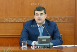 Karabakh Minister of State Arayik Harutyunyan resigns