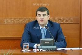 Karabakh Minister of State Arayik Harutyunyan resigns