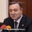 Губернатор Армавирской области Армении ушел в отставку