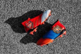 Henrikh Mkhitaryan's new boots feature Armenian flag, coat of arms