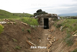 Karabakh soldier wounded in Azerbaijan's fire in grave condition