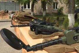 American instructors help Armenian peacekeepers better engineer skills