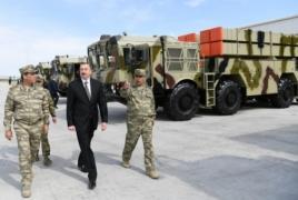 Azerbaijan displays Polonaise systems, LORA missiles