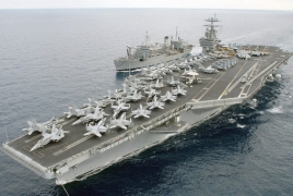 US warship that struck Damascus heads back to Syrian waters
