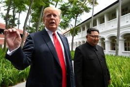 Трамп и Ким Чен Ын подписали совместное соглашение в Сингапуре