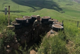 Armenia unveils footage of Azerbaijanis visiting border graves