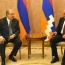 Բակո Սահակյանը և Արմեն Սարգսյանը քննարկել են ՀՀ-Արցախ փոխգործակցության հարցեր