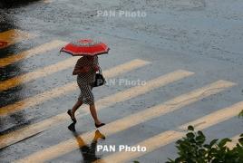 Անձրևները կշարունակվեն մինչև հունիսի 19-ը