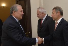 President: Armenia will make further effort for Karabakh settlement