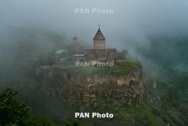 Traveller: Armenia's Tatev among most stunning mountain monasteries