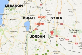 Israeli troops allegedly fire flare bombs along Syrian-Lebanese border