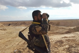 Unidentified strikes kill several Syrian, Iraqi troops in east Syria