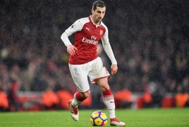 Henrikh Mkhitaryan one of Unai Emery's five 'untouchables' - media