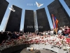 Heavy rain puts out eternal flame at Armenian Genocide memorial