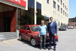 ՎիվաՍել-ՄՏՍ-ից սմարթֆոն գնած հաճախորդը Kia Rio X-line մեքենա է շահել