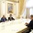 Пашинян обсудил с главой компании «Армения» перспективы развития авиации РА